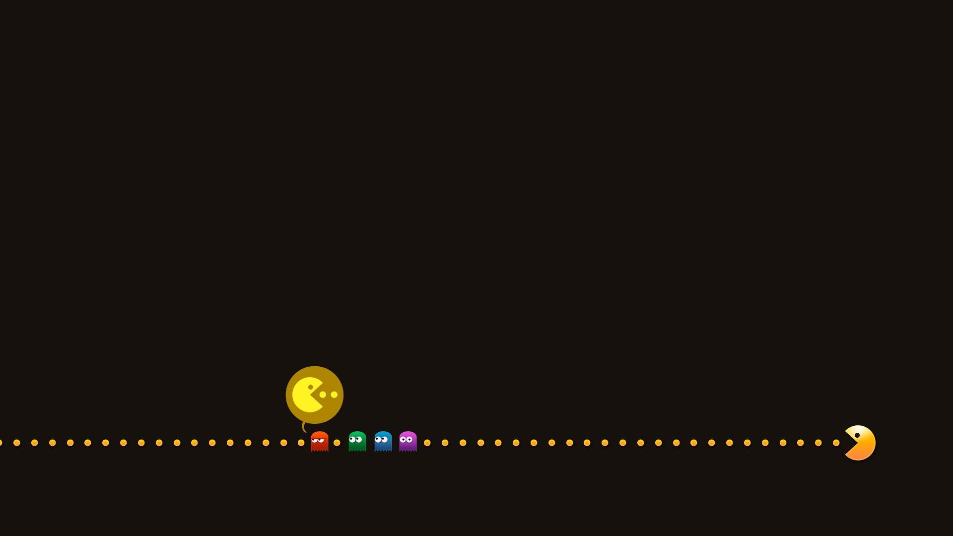 Pubg Dual Monitor Wallpaper  Pac Man Computer Wallpapers Desktop Backgrounds