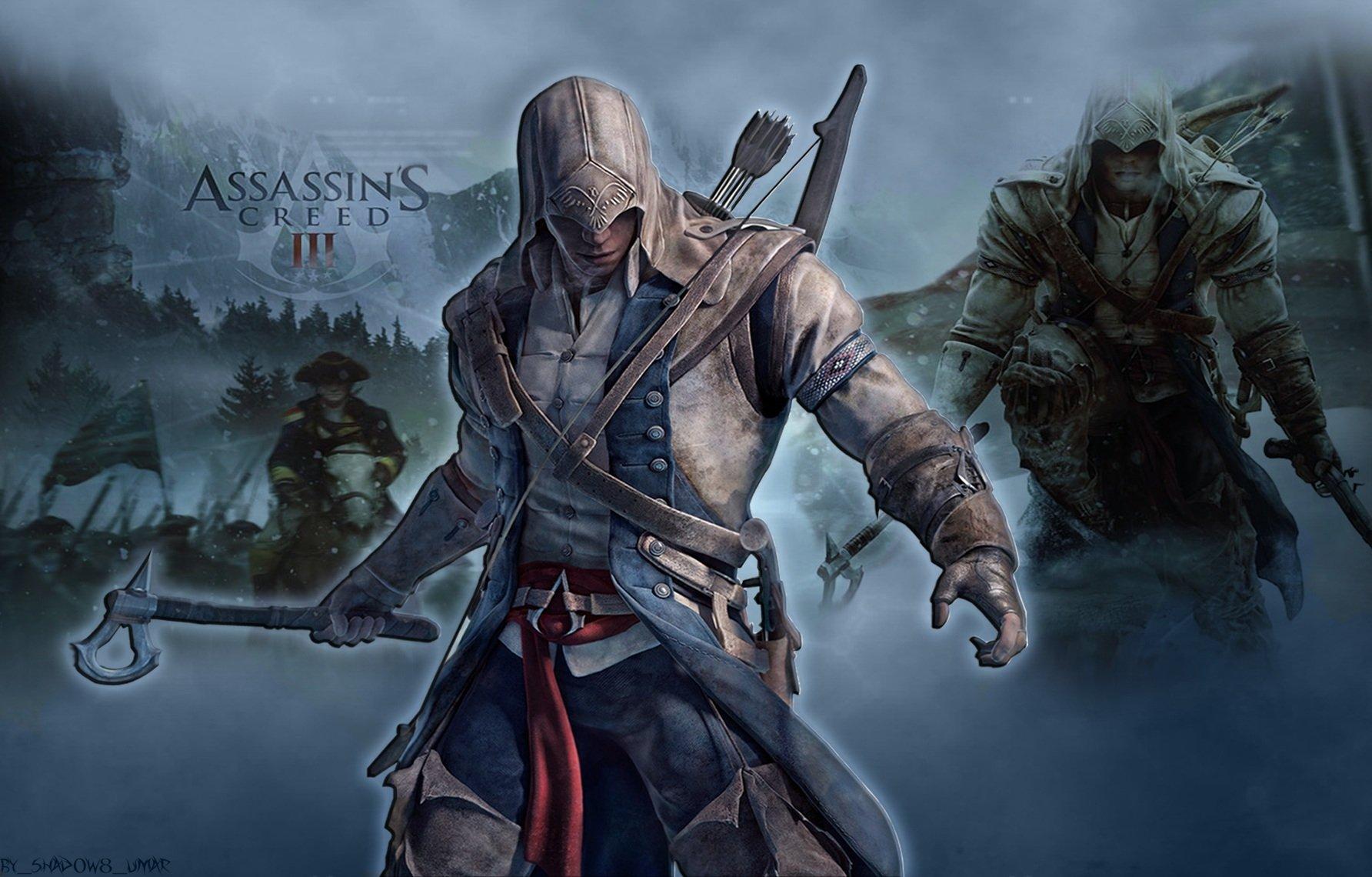 Zelda Botw Wallpaper Iphone X Assassin S Creed Iii Wallpaper And Background Image