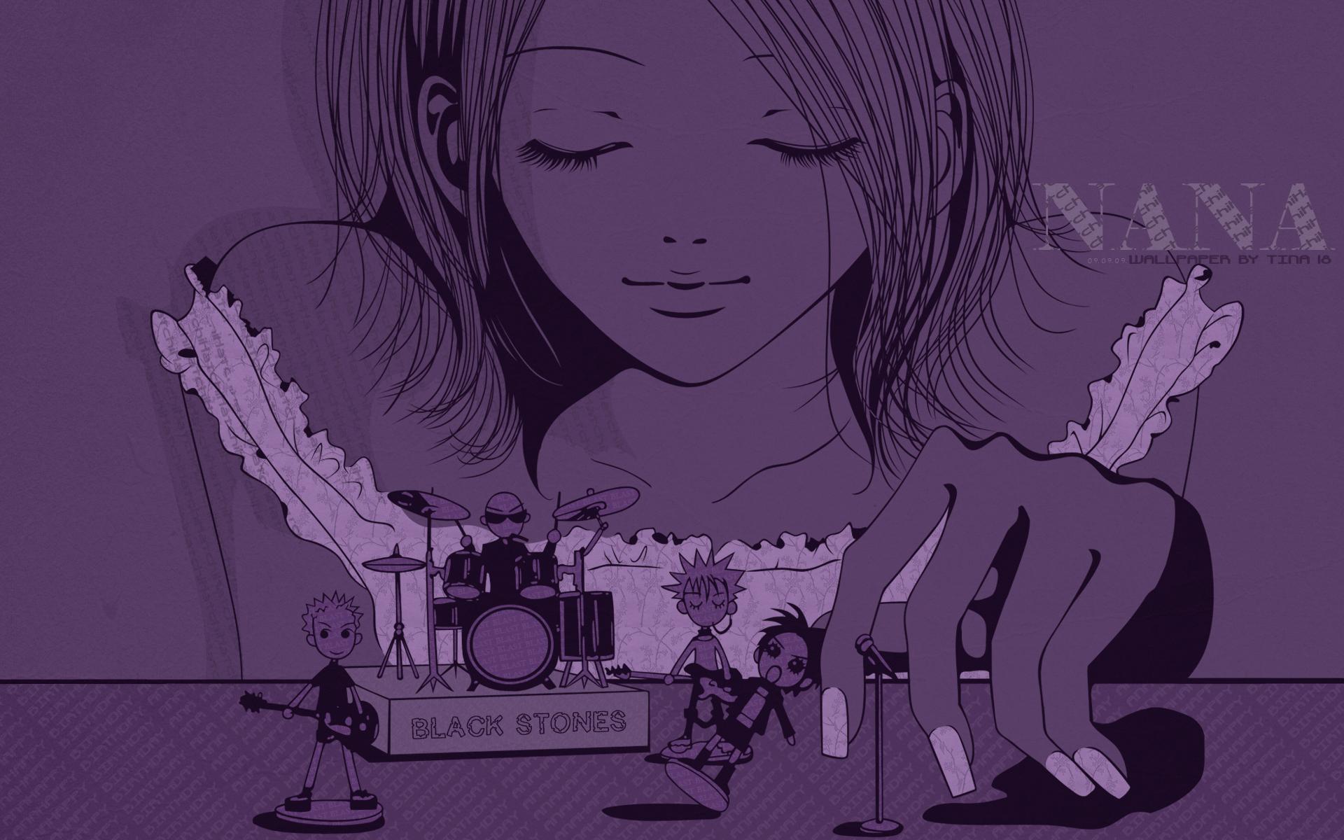Nana Anime Wallpaper Nana Full Hd Fond D 233 Cran And Arri 232 Re Plan 1920x1200