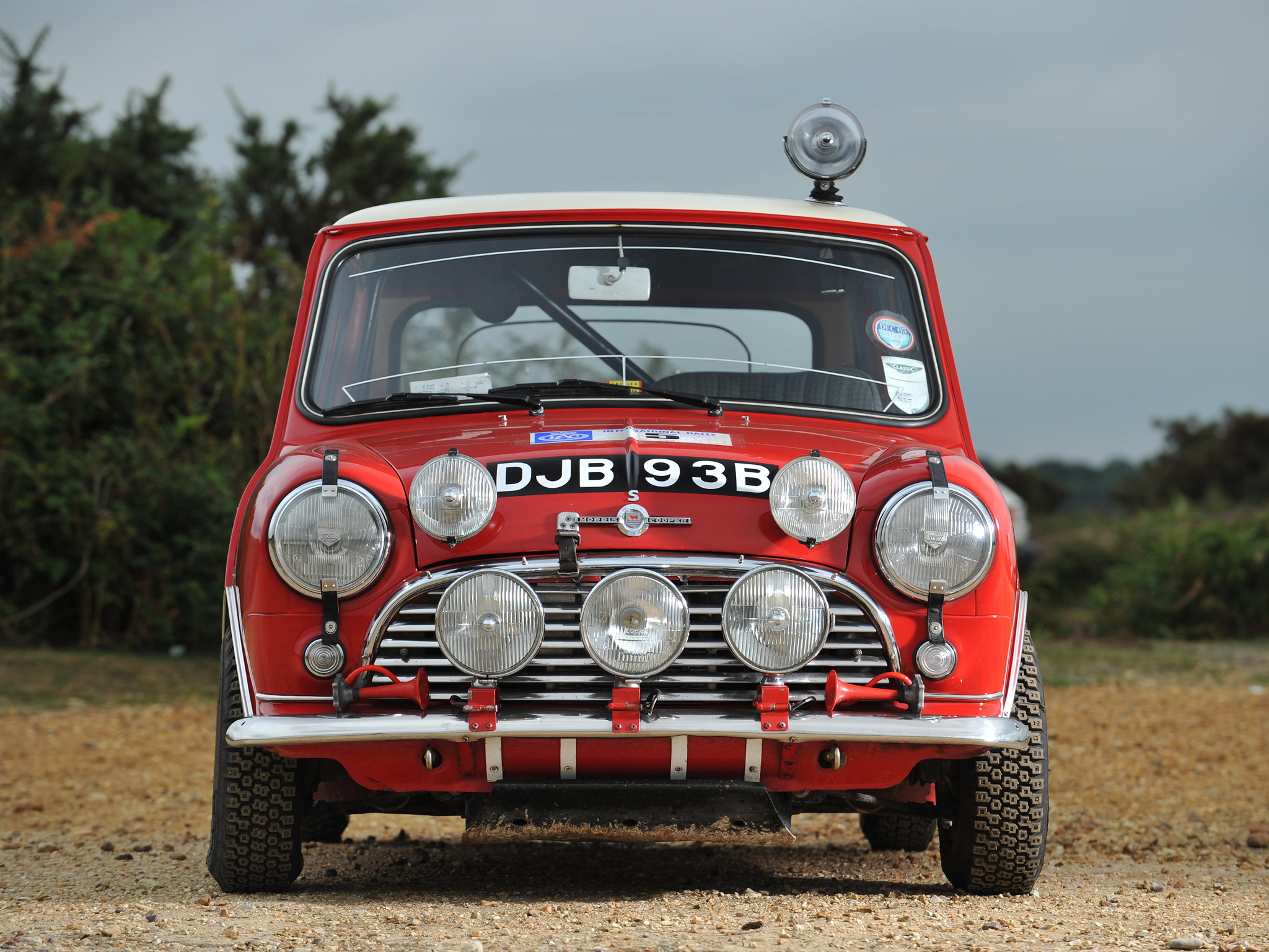 Morris Mini Cooper S Rally ADO15 196468 Full HD