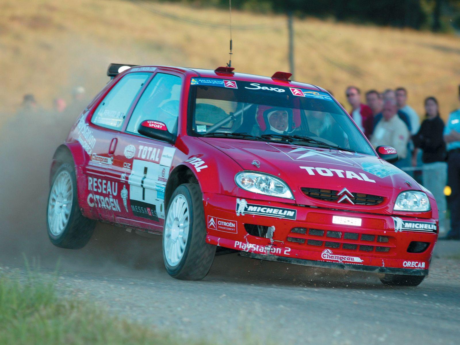 Citroën Saxo Super 1600 Wallpaper And Background Image