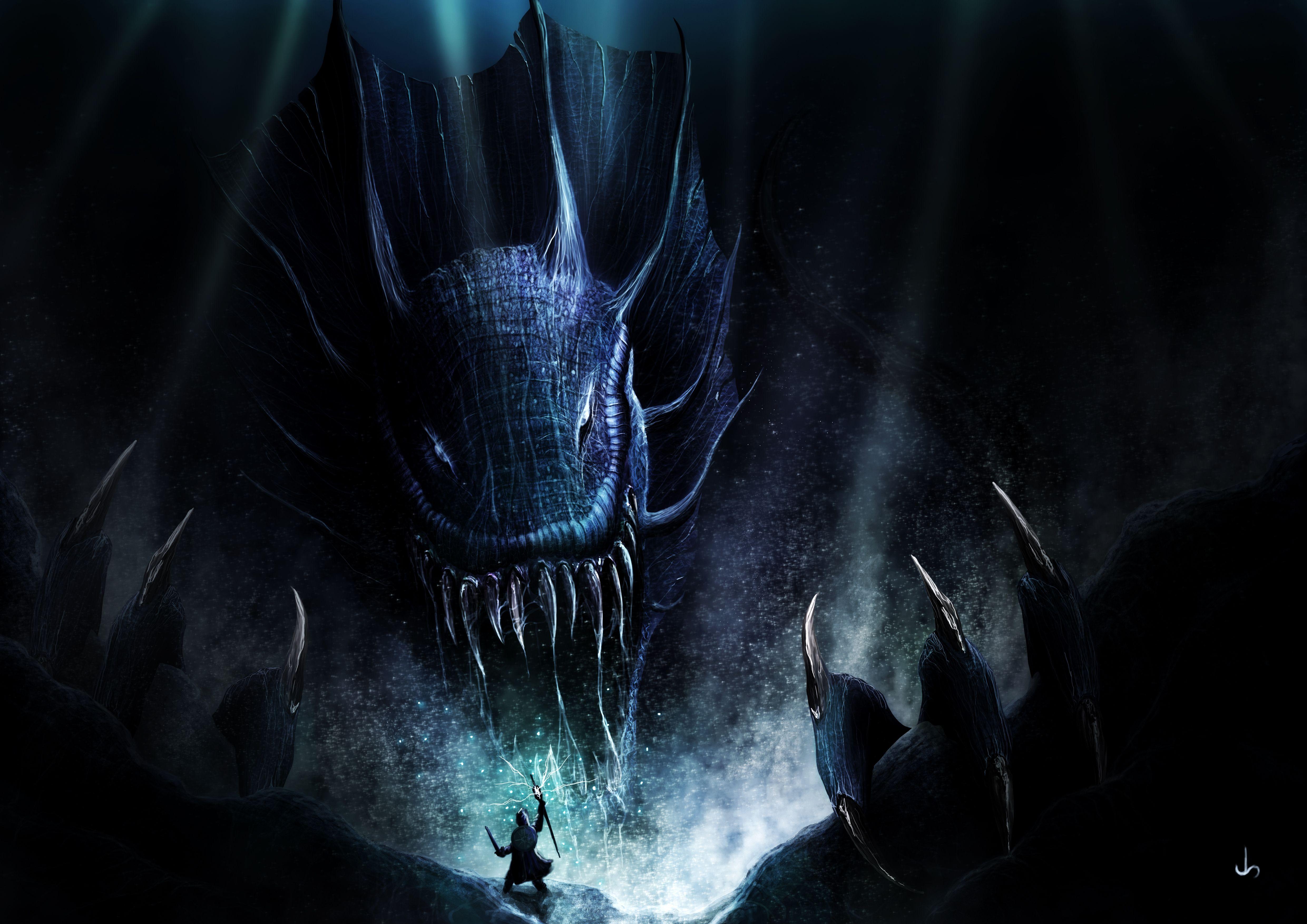 Final Fantasy Xv Wallpaper Iphone X Drachen 4k Ultra Hd Wallpaper Hintergrund 4961x3508