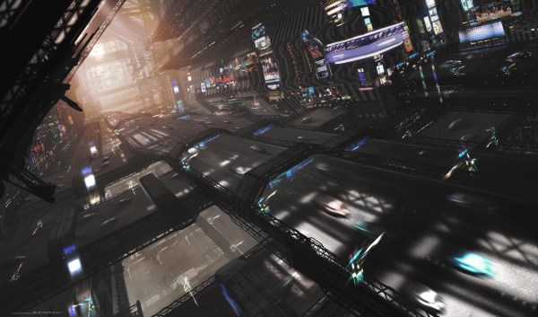 Cyberpunk Desktop