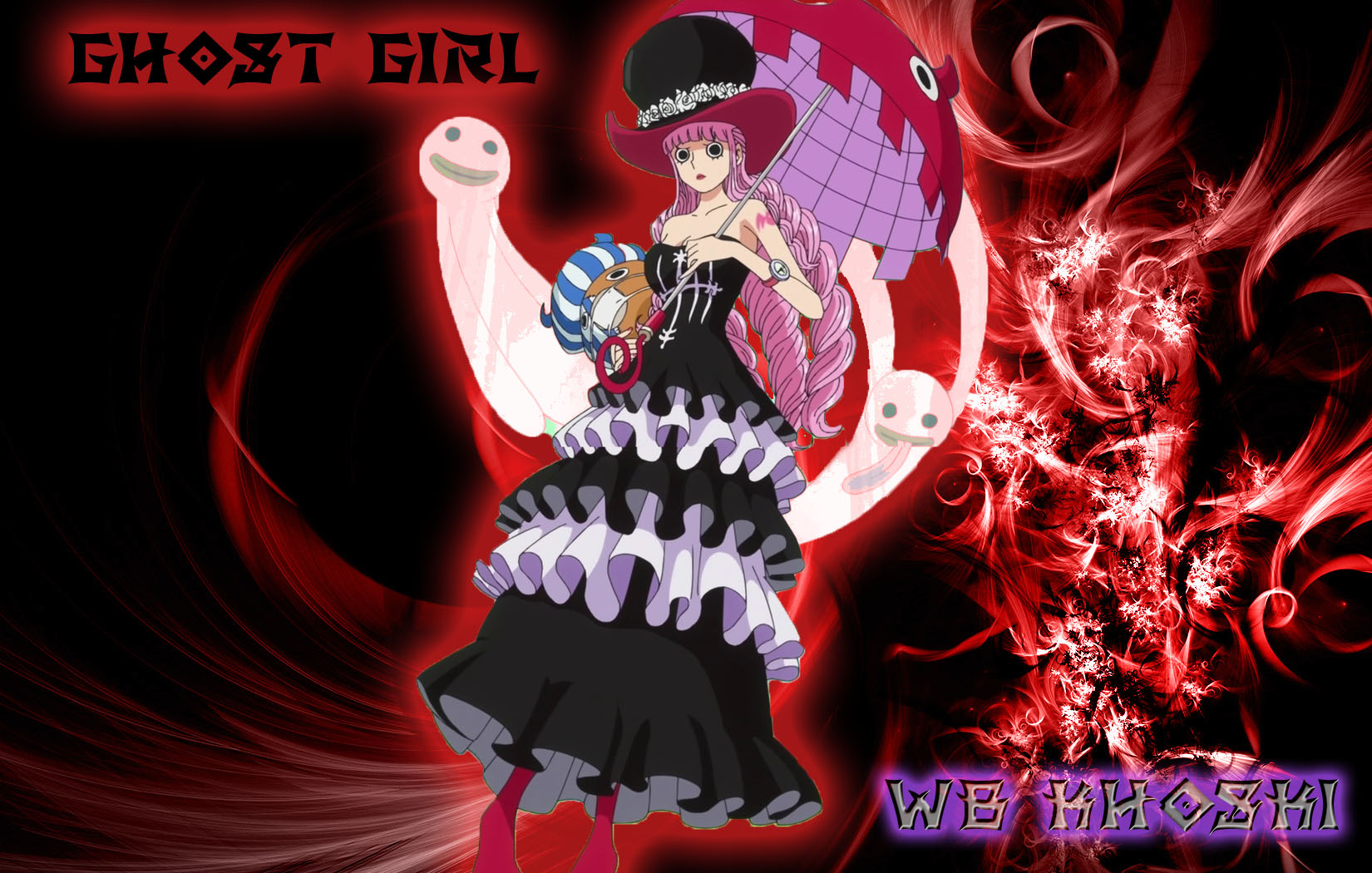 Ghost Girl From Thriller Bark By WB KHOSKI Wallpaper And