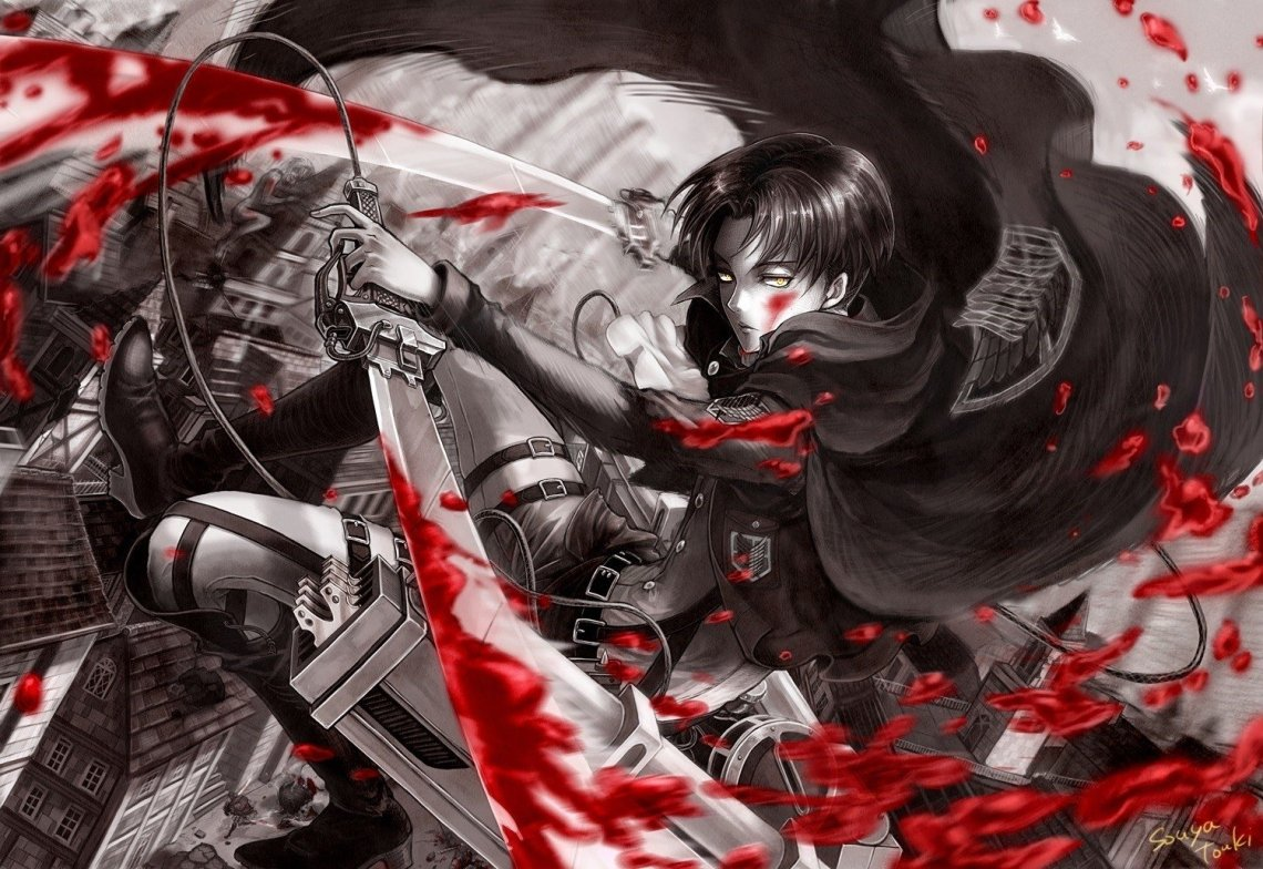 510 Levi Ackerman Hd Wallpapers Background Images