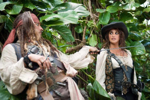 Pirates of the Caribbean Penelope Cruz as Angelica
