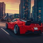 4413 Red Car Hd Wallpapers Background Images Wallpaper Abyss