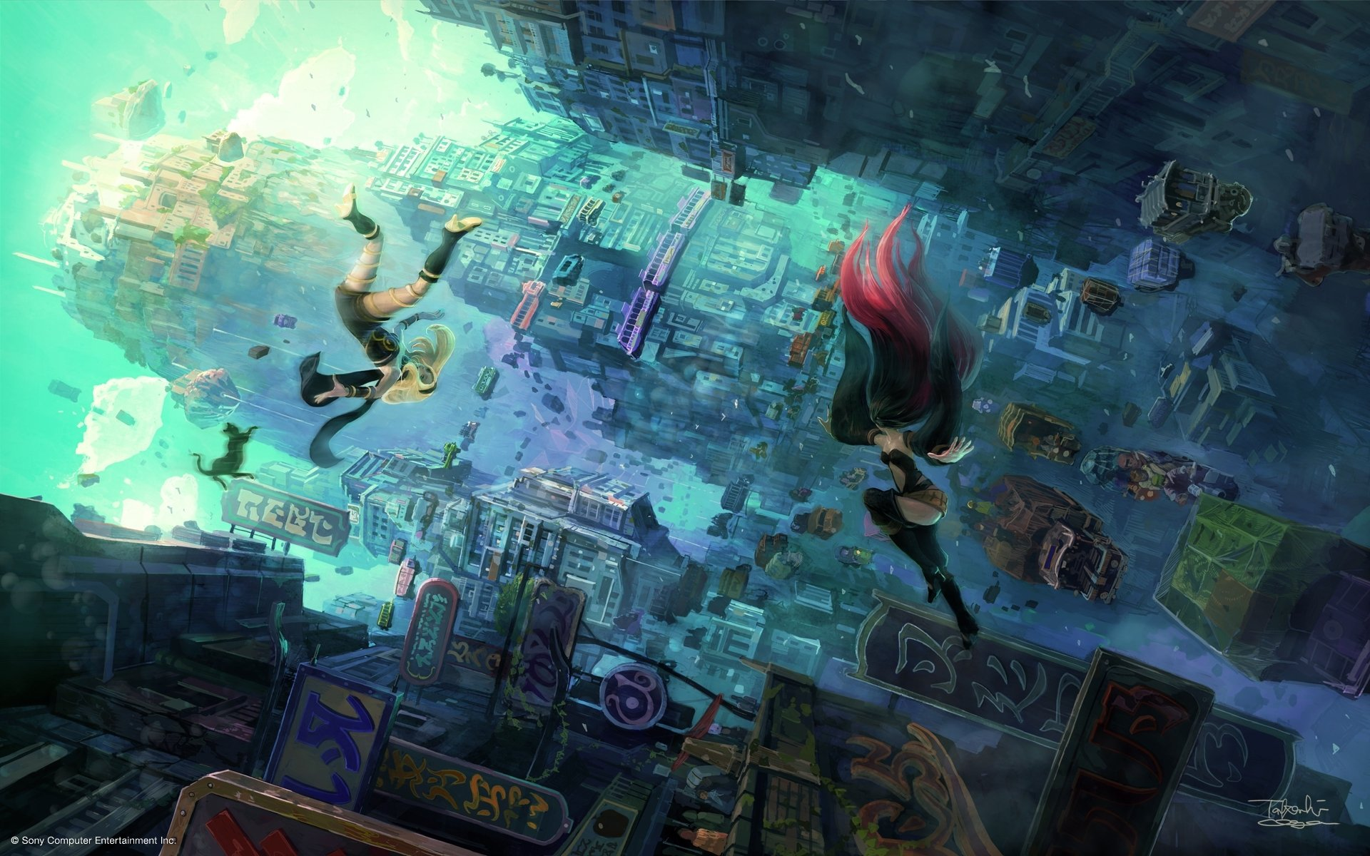 Gravity Falls Wallpaper 1366x768 Gravity Rush 2 Full Hd Wallpaper And Background Image