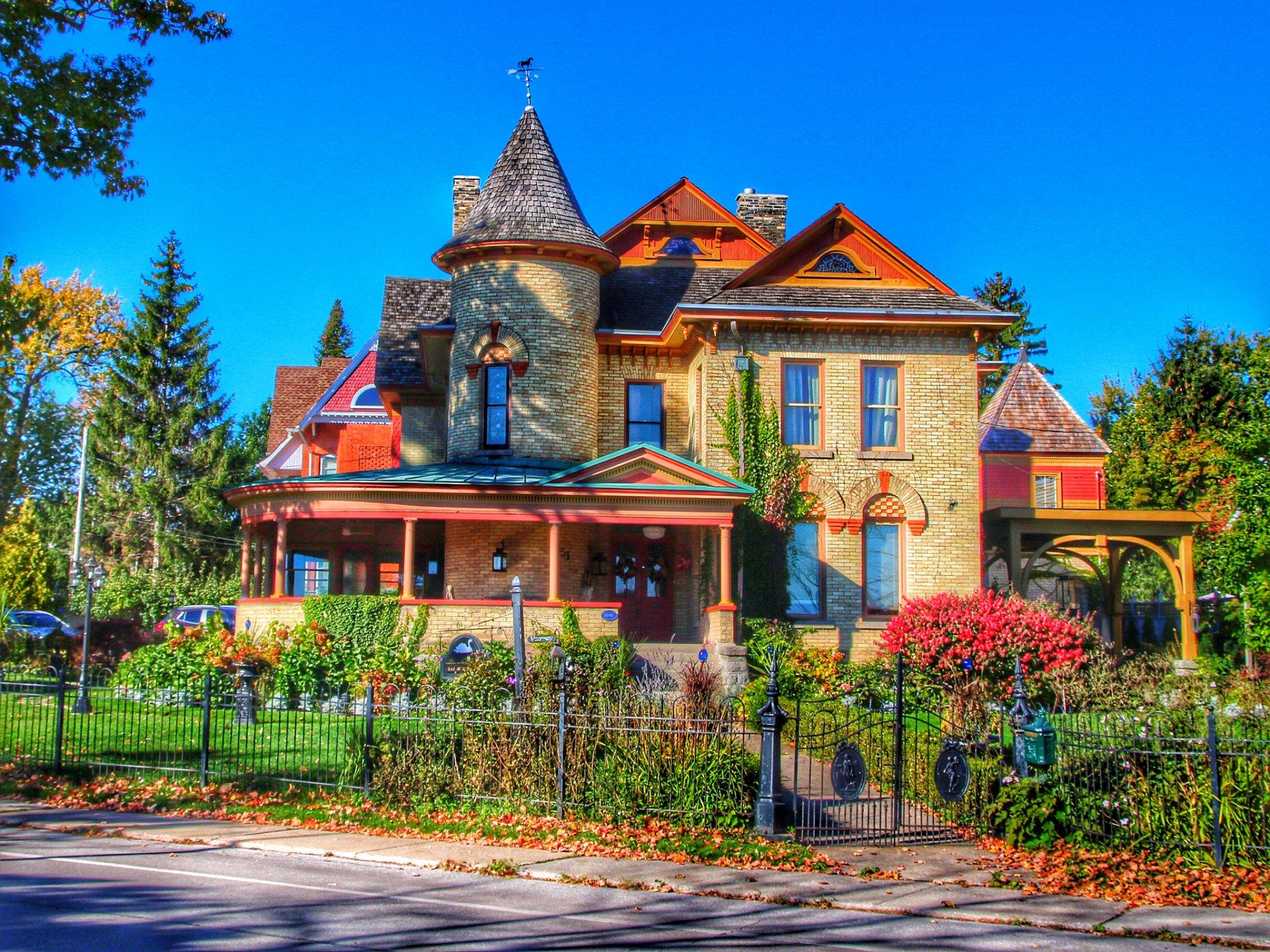 House In Niagara Falls Ontario Hd Wallpaper