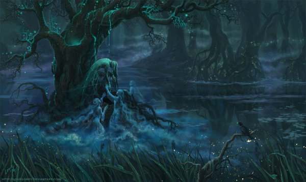 Evil Forest Wallpaper And Background 1600x956 Id