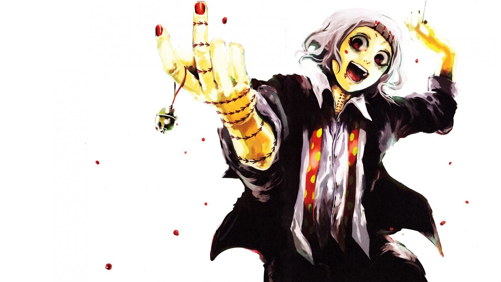 Suzuya juuzou is a character from tokyo ghoul. Tokyo Ghoul HD Wallpaper | Background Image | 1920x1080 ...
