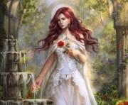 sad fantasy girl hd wallpaper