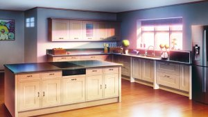 kitchen anime wallpapers background konachan wall nobody respond edit flare