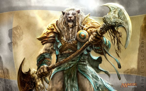 Magic The Gathering Lion Warrior
