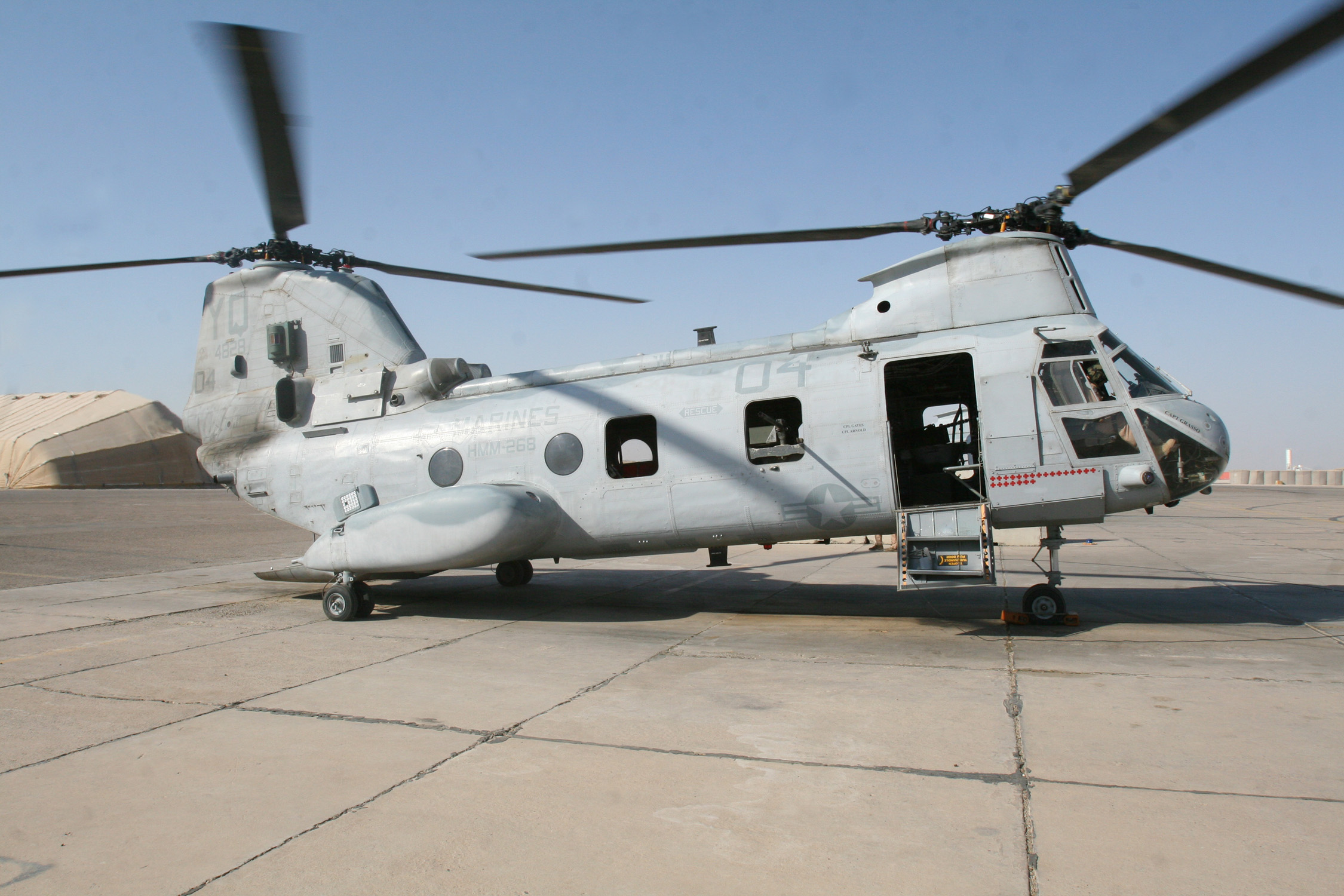 boeing vertol ch-46 sea knight full hd wallpaper and background