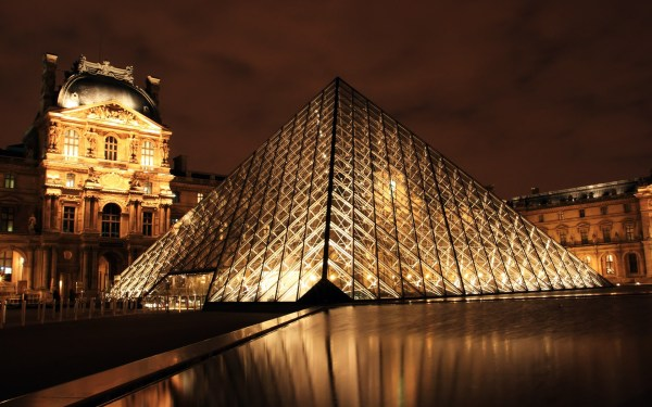 Louvre Hd Wallpapers Backgrounds - Wallpaper Abyss