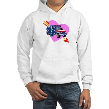 EMS Valentine's Day Hooded Sweatshirt