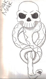 dark death eater mark drawing draw sorry potter harry drawings roleplay hand side fanpop able spots bottom while left answers