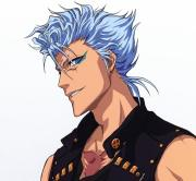 blue haired anime characters