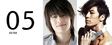 5.se7en<br /><br /><br /><br /> Se7en went from being boyish and charming to sleek and masculine for his recent comebac