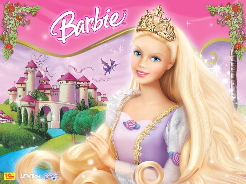 Barbie Rapunzel  Famous Cartoon