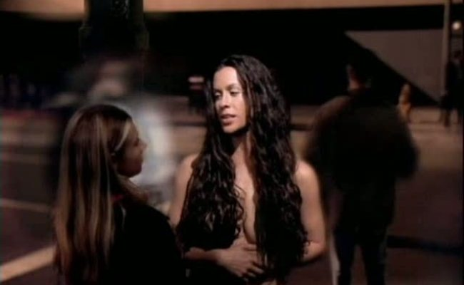 Alanis Morissette Thank You Video Uncensored