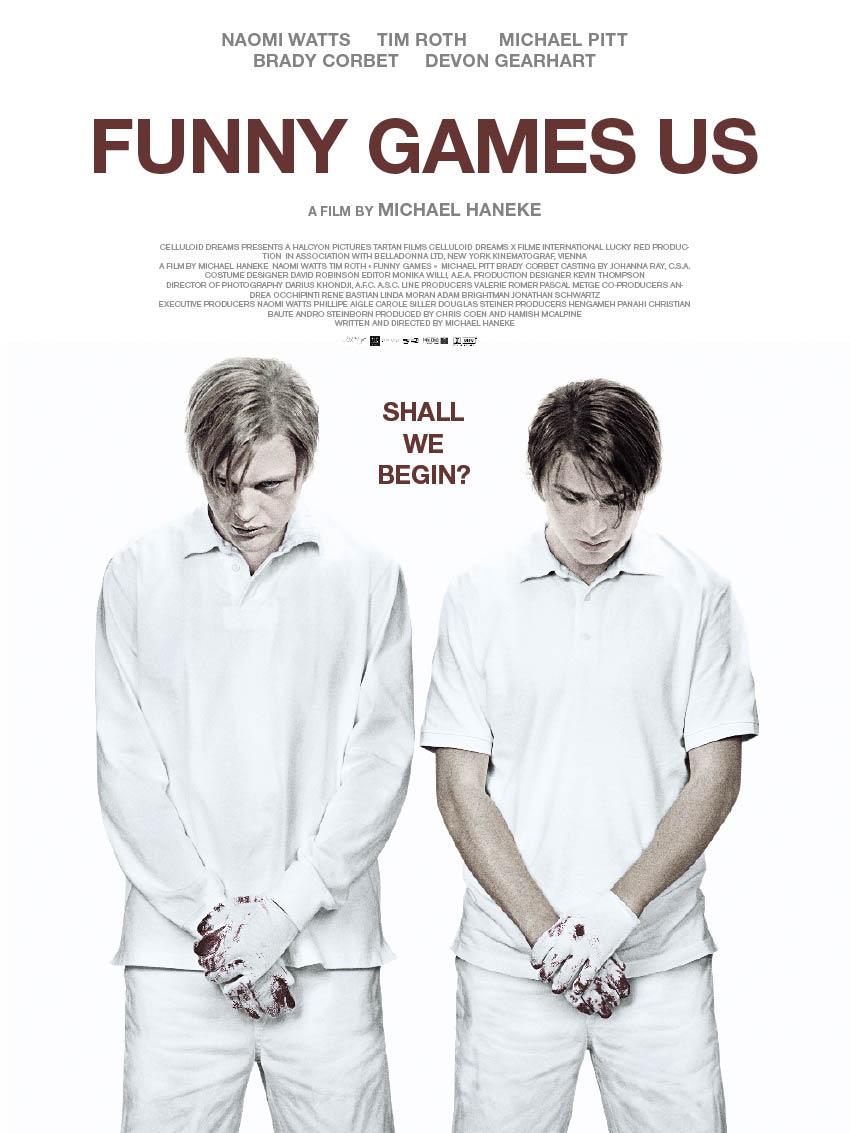 Risultati immagini per FUNNY GAMES ( 2007 ) POSTER
