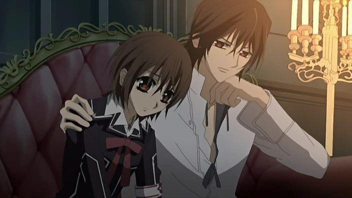 Vampire Knight Yuki And Kaname Sleep Together