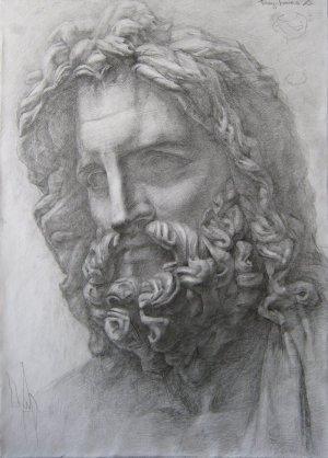 zeus olympians fan poseidon fanpop unseen journey statue god background athena club eros aphrodite fanart paintings artemis cabbage
