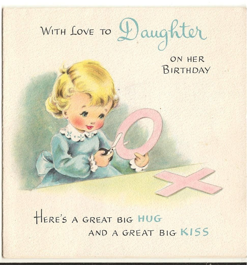 Vintage Birthday Girls Cards Vintage Fan Art 16393715