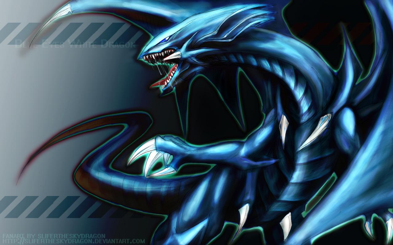 blue eyes yu gi oh newb