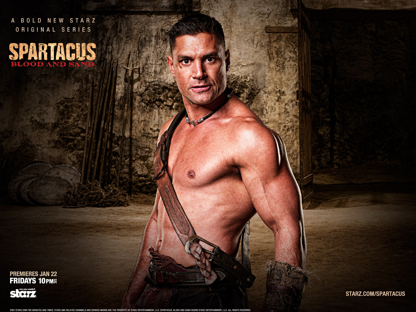 Spartacus Blood and Sand 4  Movie Trailery
