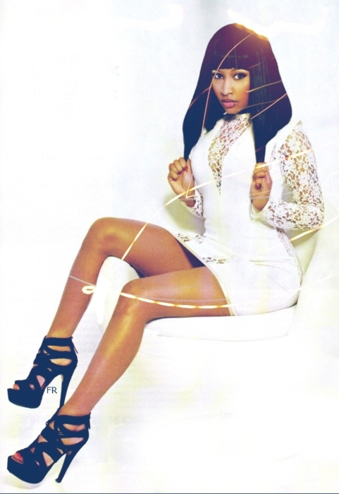 Nicki - XXL Magazine (January 2011) - Nicki Minaj 481x700