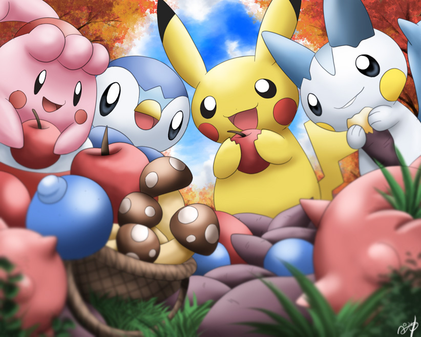 Pikachu Images Pikachu And Friends HD Wallpaper And