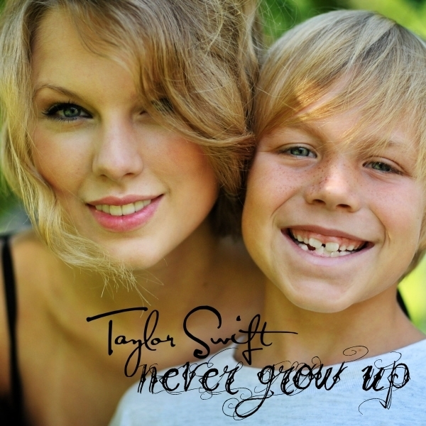 So Sweet Girl Wallpaper Never Grow Up Fanmade Single Cover Taylor Swift Fan