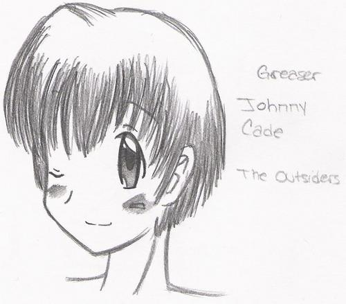 Johnny Cade images Johnny Cade Drawings HD wallpaper and