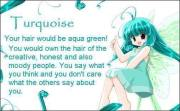 anime hair turquoise - fan