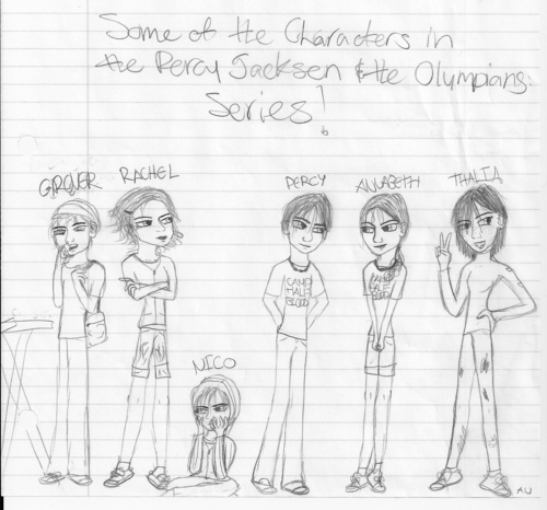 Percy Jackson & The Olympians Books images Some of the