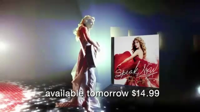 Speak Now Deluxe Edition commercial - Speak Now Image (18249212) - Fanpop