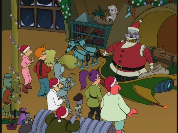 12 DAYS OF CHRISTMAS REVIEW: FUTURAMA – THE CHRISTMAS EPISODES ...