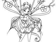 Coloring Pages - The Winx Club Photo (18341752) - Fanpop