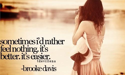 Image result for brooke davis quotes