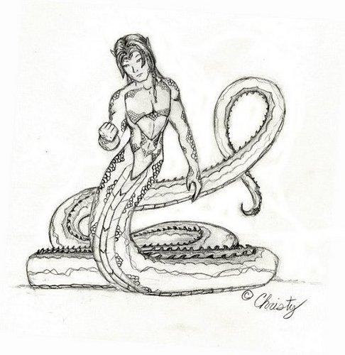 Magical Creatures images Naga (half man half snake
