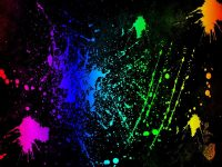Neon Colors Rock images Splatter HD wallpaper and