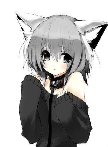 Cartoon Introvert Girl Wallpaper Neko Neko Anime Characters Photo 19833484 Fanpop