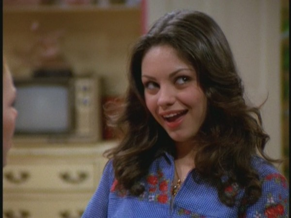 Mila Kunis She Was On That 70s Show - Year of Clean Water