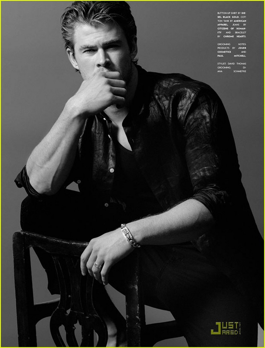 Chris Hemsworth: 'Flaunt' Feature! - chris-hemsworth photo