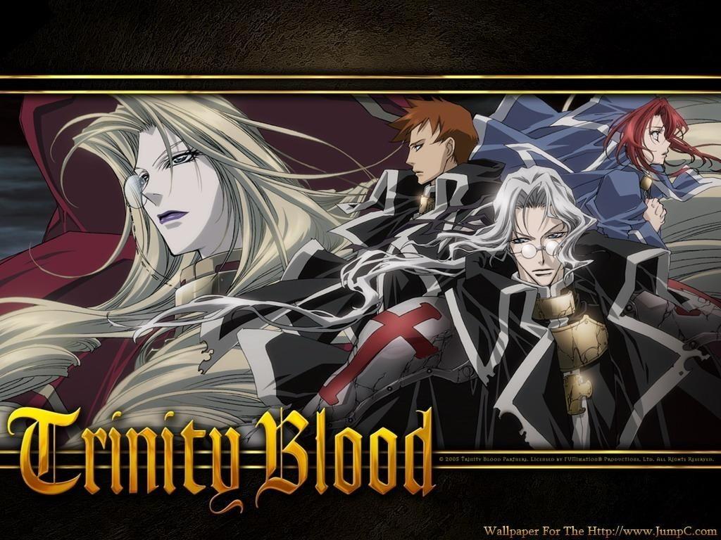 Anime Manga Wallpaper Trinity Blood Trinity Blood Wallpaper 21429996 Fanpop