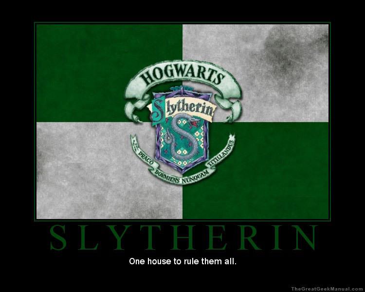 Slytherin FTW - Gryffindor vs. Slytherin Photo (22045317) - Fanpop