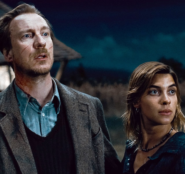Image result for lupin and tonks